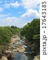 厳美渓 奇岩 渓谷の写真 17643185