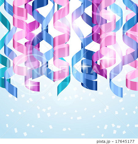 celebration carnival background design withのイラスト素材 17645177
