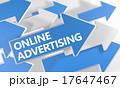宣伝 広告 のぼりのイラスト 17647467