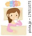 基礎体温 排卵日 妊活のイラスト 17651075