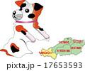地図の動物 山口 犬 17653593