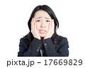 ショック 困る 女性の写真 17669829