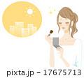 【女性のライフスタイル1】化粧直し 17675713