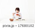 シニア 食事 食べるの写真 17680102