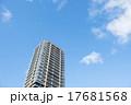 マンション(空バック) 17681568