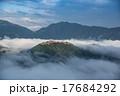 天空の城 竹田城と雲海 17684292