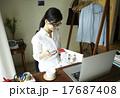 家事 アジア人 内職の写真 17687408