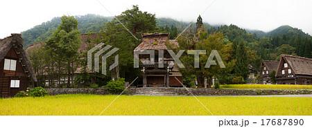 明善寺 鐘楼門 世界遺産白川郷(長辺10000pix) 17687890