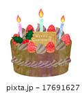 クリスマスチョコケーキ  17691627