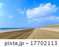 千里浜なぎさドライブウェイ 雲 青空の写真 17702113