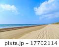 千里浜なぎさドライブウェイ 雲 青空の写真 17702114