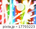 ディスコ、クラブ、ショーのスポットライト・照明の背景素材 17703223