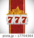 スロットマシン スロット スロットマシーンのイラスト 17704364