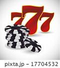 ギャンブル 賭け事 賭博のイラスト 17704532