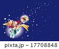 クリスマスのユニコーン 17708848