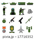 Army Icons Set 17716352