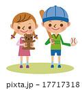 幼い男の子と女の子 17717318