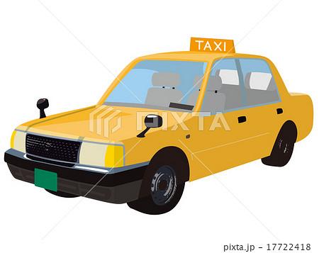 黄色のタクシー 17722418