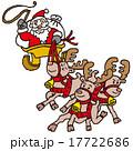サンタクロース ベクター クリスマスのイラスト 17722686