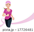 ピンクリボン Pink ribbon concept 17726481