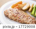 ポークステーキ 豚肉 肉の写真 17729008