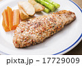 ポークステーキ 豚肉 肉の写真 17729009