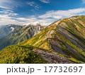 北アルプス・後立山連峰 秋の朝 17732697