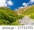 北アルプス・秋の白馬岳 色づく紅葉 17732705