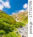 北アルプス・秋の白馬岳 色づく紅葉 17732706