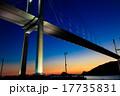 女神大橋の夕暮れとライトアップ 17735831