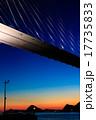 夕暮れ 女神大橋 大橋の写真 17735833