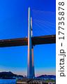 夕暮れ 女神大橋 大橋の写真 17735878