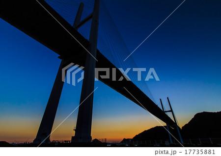 女神大橋の夕暮れ 17735881