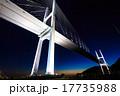 女神大橋の夕暮れとライトアップ 17735988