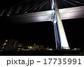 女神大橋 夜景 橋の写真 17735991