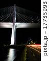 女神大橋 夜景 橋の写真 17735993