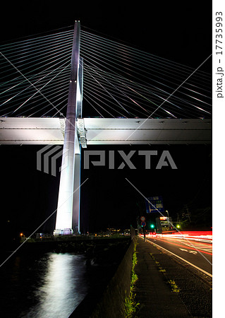 女神大橋の夜景とライトアップ 17735993
