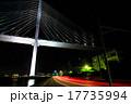 女神大橋 夜景 橋の写真 17735994