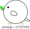 丸鳥(四つ葉をくわえた鳩) 17737590