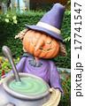 ハロウィン 街の装飾 かぼちゃ ランタン 魔女 魔法使い  17741547