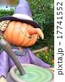 ハロウィン 街の装飾 かぼちゃ ランタン 魔女 魔法使い  17741552