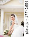 ウェディングドレス ブーケトス 新婦の写真 17742654