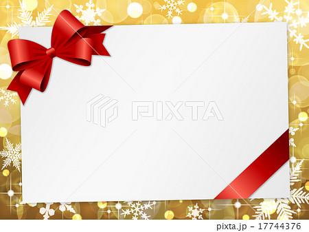 クリスマス フレームのイラスト素材 17744376 Pixta