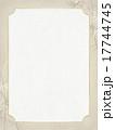 フレーム 和柄 笹のイラスト 17744745