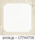 フレーム 笹 和柄のイラスト 17744756
