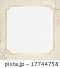 フレーム 笹 和柄のイラスト 17744758