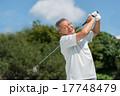 ゴルフ スイング シニアの写真 17748479