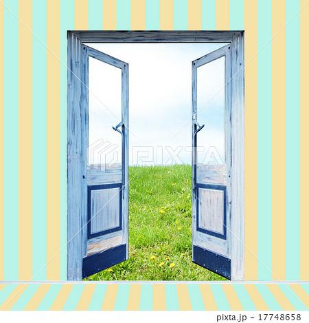 希望の扉のイラスト素材 17748658 Pixta