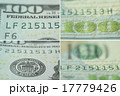 details of 100 US dollars note close-up 17779426