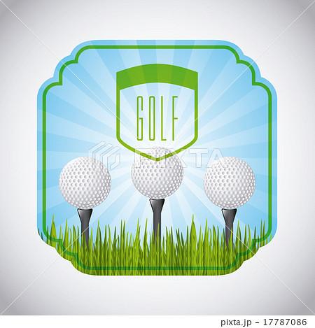 golf club emblemのイラスト素材 [17787086] - PIXTA